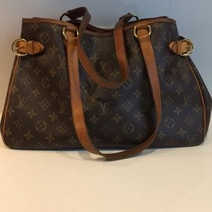Louis Vuitton Bagtignolles Brown Monogram Bag